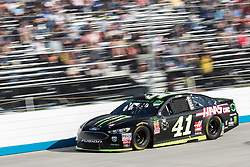 October 7, 2018 - Dover, DE, U.S. - DOVER, DE - OCTOBER 07: Kurt Busch drove his #41 Monster Energy/Haas Automation Ford to a 5th place finish in the Gander Outdoors 400 on October 07, 2018, at Dover International Speedway in Dover, DE. (Photo by David Hahn/Icon Sportswire) (Credit Image: © David Hahn/Icon SMI via ZUMA Press)