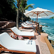 La Casa Que Canta luxury resort at Zihuatanejo, Mexico