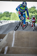 #200 (SANNIER Benjamin) FRA at Round 5 of the 2019 UCI BMX Supercross World Cup in Saint-Quentin-En-Yvelines, France