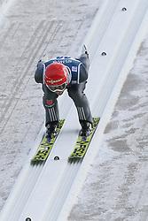 November 19, 2017 - Wisla, Poland - Markus Eisenbichler (GER), competes in the individual competition during the FIS Ski Jumping World Cup on November 19, 2017 in Wisla, Poland. (Credit Image: © Foto Olimpik/NurPhoto via ZUMA Press)