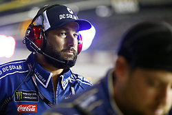 September 22, 2018 - Richmond, Virginia, United States of America - A crew member for Kyle Larson (42) works on pit road during the Federated Auto Parts 400 at Richmond Raceway in Richmond, Virginia. (Credit Image: © Chris Owens Asp Inc/ASP via ZUMA Wire)