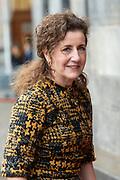 Nieuwjaarsontvangst voor Nederlandse genodigden op het Koninklijk Paleis op de Dam.<br /> <br /> op de foto:  Ingrid van Engelshoven