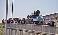 SWAT joins Jefferson Parish Sheriff's Office t\ to help get proteseters off the off ramp of the West Bank Expressway. The protest was organized by families of Modesto Reyes, Keeven Robinson, Darivi Robertson,Chris Joseph, Armond Jairon Brown Eric Harris and Leo Brooks - black men killed by the Jefferson Parish Police since 2018, 5 people were arrested. Family members are calling for accountability from the Jefferson Parish Sheriff's Office and for the officers to be required to wear body cameras. clash with police at tThe protest was organized by the families of Modesto Reyes, Keeven Robinson, Darivi Robertson,Chris Joseph, Armond Jairon Brown Eric Harris and Leo Brooks - black men killed by the Jefferson Parish Police since 2018, 5 people were arrested. Family members are calling for accountability from the Jefferson Parish Sheriff's Office and for the officers to be required to wear body cameras.