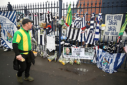 Tributes to Cyrille Regis ahead of the Premier League match at The Hawthorns, West Bromwich.