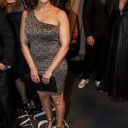 NLD/Amsterdam/20150211 - Premiere Fifty Shades of Grey, Aicha Marghadi en Wendy Nagel