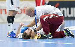 06.01.2017, BSFZ Suedstadt, Maria Enzersdorf, AUT, IHF Junior WM 2017 Qualifikation, Ungarn vs Österreich, im Bild Peter Schmid (HUN), Daniel Sandor (HUN) // during the IHF Men's Junior World Championships qualifying match between Hungary and Austria at the BSFZ Suedstadt, Maria Enzersdorf, Austria on 2017/01/06, EXPA Pictures © 2017, PhotoCredit: EXPA/ Sebastian Pucher