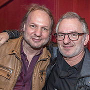 NLD/Bussum/20190306  - boekpresentatie 50 jaar Nederlandse popcultuur van Lex Harding, Rob Stenders en Jeroen van Inkel