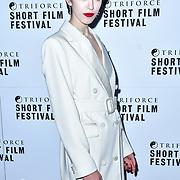 Chanel Joan Elkayam attend TriForce Short Festival, on 30 November 2019, at BFI Southbank, London, UK.