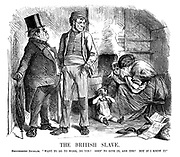 "The British Slave. Disinterested delegate. ""Want to go to work, do yer? Goin' to give in, are yer? Not if I know it."""