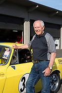 Garry Small, mannen som hjälpte amerikanarna att få upp ögonen för det svenska bilmärket genom att köra race med sportbilsmodellen Volvo P1800. Portland, Oregon, USA<br /> Foto: Christina Sjögren