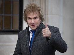 © Licensed to London News Pictures. 06/12/2016. London, UK. Businessman Charlie Mullins arrives at the Supreme Court on the second day of a hearing to appeal against a November 3 High Court ruling that Article 50 cannot be triggered without a vote in Parliament. Photo credit: Peter Macdiarmid/LNP