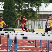 C Division Girls 80m Hurdles