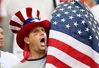 Photo: Chris Ratcliffe.<br /> USA v Czech Republic. Group E, FIFA World Cup 2006. 12/06/2006.<br /> USA fan.