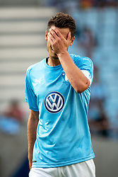 August 1, 2018 - MalmÃ, Sverige - 180801 Markus Rosenberg of Malmö FF looks dejected during the UEFA Champions League qualifying match between Malmö FF and Cluj on August 1, 2018 in Malmö..Photo: Ludvig Thunman / BILDBYRÃ…N / kod LT / 35511 (Credit Image: © Ludvig Thunman/Bildbyran via ZUMA Press)
