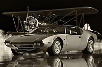 The De Tomaso Pantera from 1971 a true sports car is an Italian sports car that was the very first and only car to win the 24-hour classic race. It also holds the distinction of being the first car to cross the finish line of the Le Grand Prix in Italy. The De Tomaso didn't really take off in its class due to financial problems and the rest of the Italian classic car makers found their way into the race by putting out new cars that were faster and more technologically advanced than the Pantera.<br /> <br /> The De Tomaso however never managed to regain the speed it had in its first race and after a few seasons the car was withdrawn from the sport. Only time will tell if the revived De Tomaso can equal the achievements of the originals and if it will be able to challenge for supremacy once again. Regardless, many automotive fans still find the Pantera to be a classic car, a car with class and a personality that can't be matched by any other modern-day sports car. If you are in the market for a true Italian classic then the Pantera might just be the right vehicle for you.<br /> <br /> Perhaps one of the most striking features of the De Tomaso Pantera from 1971 is its stance. A sporty two-door coupe, the De Tomaso Pantera looks almost like an SUV or a truck. Its long hood and low rear window accentuate this look, giving it a sporty look. Even with its modern day upgrades the Pantera still manages to carry its roots from before and deliver a powerful and stylish ride for modern day drivers who want to enjoy a powerful, classic ride that can be as unique as the driver himself.