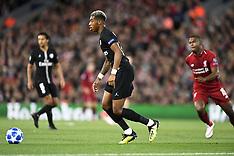Liverpool v PSG - 18 Sept 2018