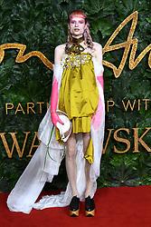 Matty Bovan attending the Fashion Awards in association with Swarovski held at the Royal Albert Hall, Kensington Gore, London