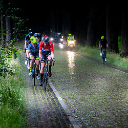 VELDHOVEN (NED) July 4 <br /> CYCLING <br /> The first race of the Schwalbe Topcompetition the Simac Omloop der Kempen<br /> Nederlands Kampioen Robin Löwik bepaald het tempo
