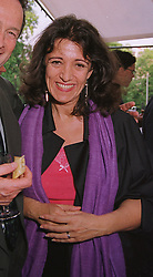 MRS GAIL REBUCK (Mrs  Philip Gould) chairman of Random House UK Ltd,  at a party in London on 17th June 1999.MTK 61 WO