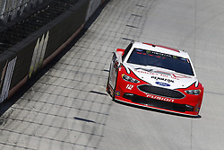 April 13, 2018 - Bristol, Tennessee, United States of America - April 13, 2018 - Bristol, Tennessee, USA: Ryan Blaney (12) bring his racecar down the backstretch during opening practice for the Food City 500 at Bristol Motor Speedway in Bristol, Tennessee. (Credit Image: © Chris Owens Asp Inc/ASP via ZUMA Wire)