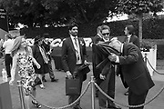 SECURITY CHECKING UMBRELLA,  Investec Derby, Epsom. June 2 2018