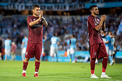 August 1, 2018 - MalmÃÂ, SVERIGE - 180801 Players of Cluj looks dejected after the UEFA Champions League qualifying match between Malmö FF and Cluj on August 1, 2018 in Malmö..Photo: Mathilda Ahlberg / BILDBYRÃ…N / Cop 178  (Credit Image: © Mathilda Ahlberg/Bildbyran via ZUMA Press)