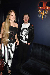 VIOLET NEYLOR-LEYLAND and PHIL COLBERT at a party to celebrate the publication of the 2007 Tatler Little Black Book held at Tramp, 40 Jermyn Street, London on 7th November 2007.<br /><br />NON EXCLUSIVE - WORLD RIGHTS