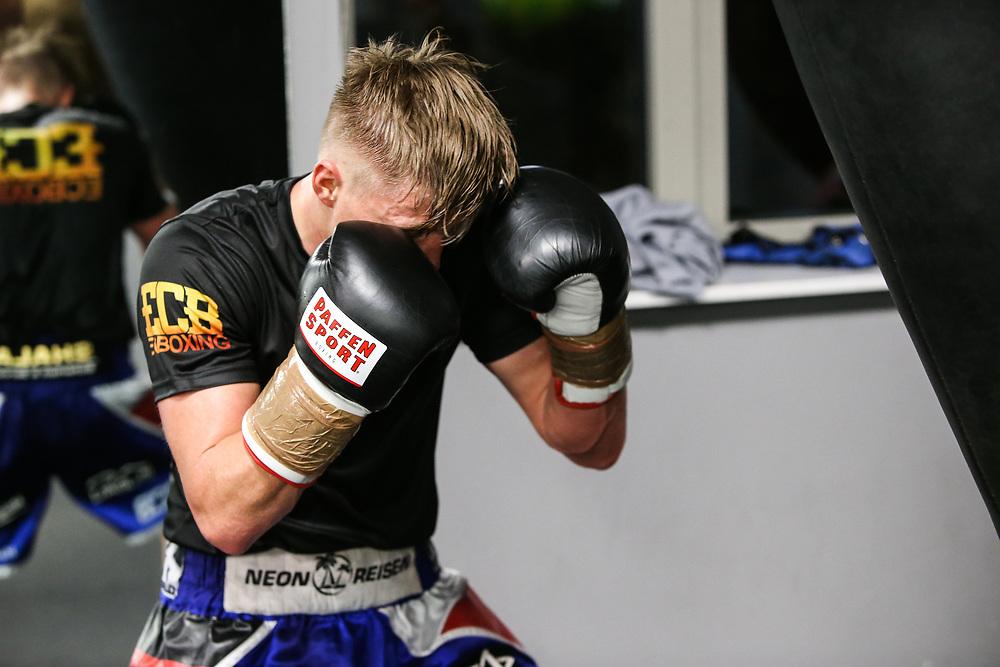 Boxen: ECB, Sparring, Hamburg, 10.110.2020<br /> Sebastian Formella (GER, EC Boxing)<br /> © Torsten Helmke