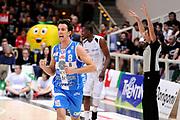 DESCRIZIONE : Trento Lega A 2014-15 Playoff Quarti di Finale Gara 1 Dolomiti Energia Trento Banco di Sardegna Sassari<br /> GIOCATORE : Giacomo De Vecchi<br /> CATEGORIA : esultanza<br /> SQUADRA : Banco di Sardegna Sassari<br /> EVENTO : Lega A 2014-2015 Playoff Quarti di Finale Gara 1<br /> GARA : Dolomiti Energia Trento Banco di Sardegna Sassari<br /> DATA : 18/05/2015<br /> SPORT : Pallacanestro<br /> AUTORE : Agenzia Ciamillo-Castoria/M.Marchi<br /> Galleria : Lega Basket A 2014-2015 <br /> Fotonotizia: Trento Lega A 2014-15 Playoff Quarti di Finale Gara 1 Dolomiti Energia Trento Banco di Sardegna Sassari