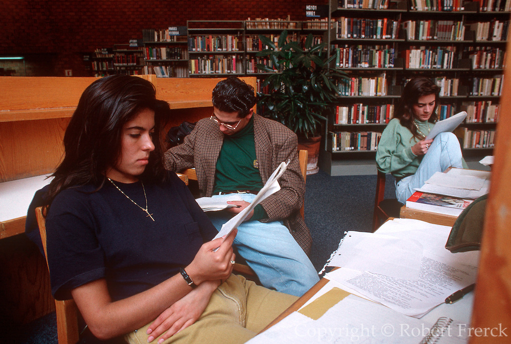 MEXICO, MEXICO CITY Ibero Americana University, library
