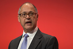 © Licensed to London News Pictures . 30/09/2015 . Brighton , UK . TUC's LESLIE MANASSEH speaks to the conference . The 2015 Labour Party Conference . Photo credit : Joel Goodman/LNP