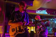 London, UK. Wednesday 22nd April 2015. Indie band Crushed Beaks playing live at The Social in London.