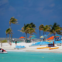 Caribbean, Bahamas, Castaway Cay. Beach and water Activities at Castaway Cay.