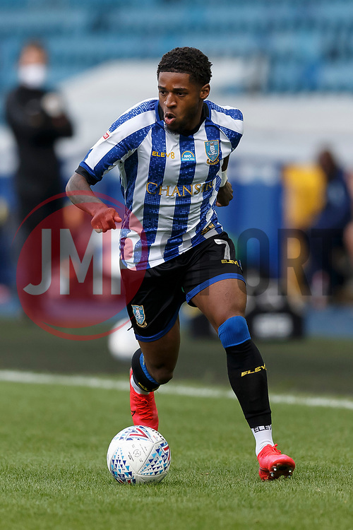 Kadeem Harris of Sheffield Wednesday - Mandatory by-line: Daniel Chesterton/JMP - 24/06/2020 - FOOTBALL - Hillsborough - Sheffield, England - Sheffield Wednesday v Huddersfield Town - Sky Bet Championship