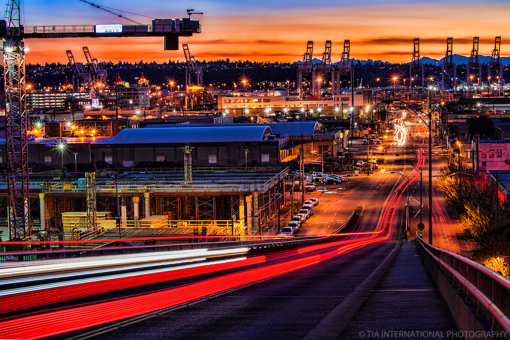 Port of Seattle & SoDo (South Downtown) District