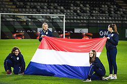 during football match between Slovenia and Nederland in qualifying Round of Woman's qualifying for EURO 2021, on October 5, 2019 in Mestni stadion Fazanerija, Murska Sobota, Slovenia. Photo by Blaž Weindorfer / Sportida