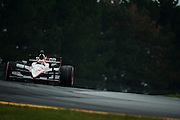 August 2011. Will Power, Indycar Honda Grand Prix of Ohio at Mid Ohio Sportscar Course in Lexington, OH.