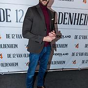 NLD/Hilversum/20180309 - Cast presentatie 'De 12 van Oldenheim', Nasrdin Dchar