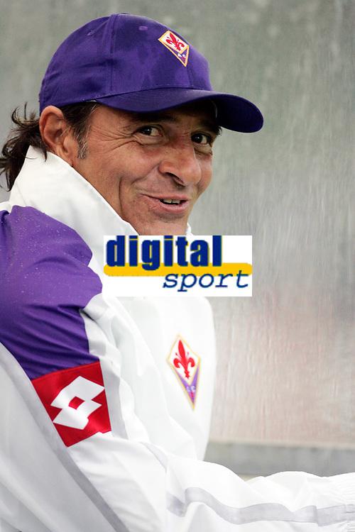 """L'Allenatore della Fiorentina Cesare Prandelli<br /> Fiorentina Trainer Cesare Prandelli<br /> Friendly Match <br /> 08 Aug 2007 <br /> Fiorentina-Primavera (5-0)<br /> """"Comunale"""" Stadium-San Piero a Sieve-Italy<br /> Photographer Luca Pagliaricci INSIDE"""