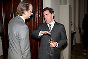 NICK BARRINGTON-WELLS; ROB BRYDEN, Langham Hotel party after a major renovation. Portland Place, London. 10 June 2009