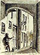 Randon Images of postcard drawings from Ireland, merchants arch, busker Old amateur photos of Dublin streets churches, cars, lanes, roads, shops schools, hospitals