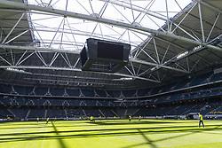 June 6, 2017 - Stockholm, SVERIGE - 170606 Öppet tak pÃ¥ Friends Arena under en träning med Sveriges fotbollslandslag den 6 juni 2017 i Stockholm. (Credit Image: © Andreas L Eriksson/Bildbyran via ZUMA Wire)