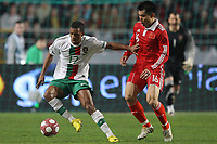 20100303: COIMBRA, PORTUGAL - Portugal vs China: International Friendly. In picture: Nani (Portugal) and Zheng Zhi (China). PHOTO: CITYFILES
