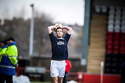 Falkirk's Kieran Duffie..Airdrie United 0 v 1 Falkirk, 30/3/2013..©Michael Schofield..