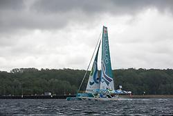 Oman Sail's MOD70 Musandam races in the Eckernförde race at  Kiel week 2014, 21-06-2014, Kiel - Germany.