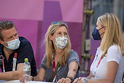 Wauter Caroline, BEL, Verhaeghe Willem, Tebbel Justine, GER<br /> Olympic Games Tokyo 2021<br /> © Hippo Foto - Dirk Caremans<br /> 06/08/2021
