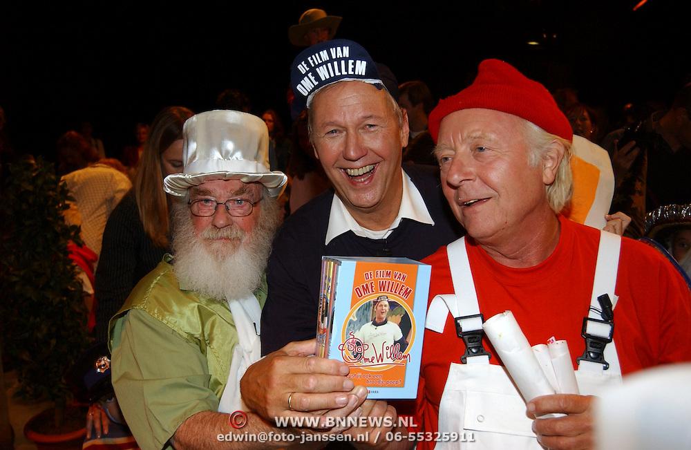 DVD presentatie Film van Ome Willem, Edwin Rutten, Aart Staartjes en Pieke Dassen
