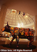 Hershey, PA, Milton Hershey School, Founder's Hall Rotunda, Parade of Cows Art