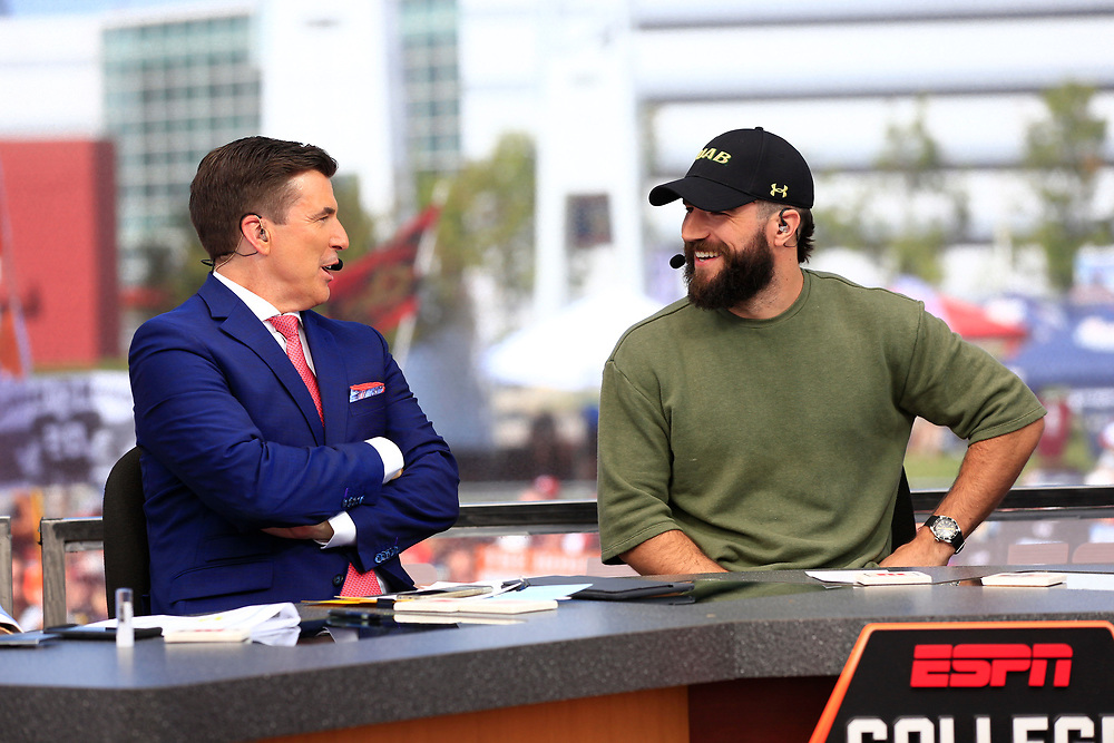 General images on the set of ESPN's College GameDay prior to the Chick-fil-A Kickoff NCAA football game between the Florida State Seminoles and the Alabama Crimson Tide on Saturday, September 2, 2017, in Atlanta. (Paul Abell via Abell Images for Chick-fil-A Kickoff Game)