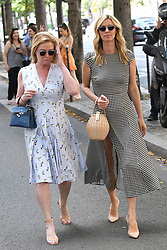 Nicky Hilton Rothschild and her mother Kathy Hilton make some shopping at Avenue Montaigne in Paris, France, on July 2nd, 2018. Photo by ABACAPRESS.COM
